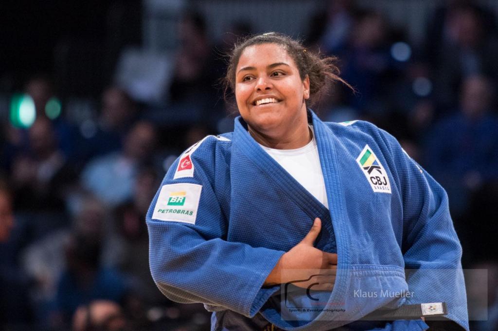 foto de Suelen vai defender o judô brasileiro na Olimpíadas no dia 30 de julho