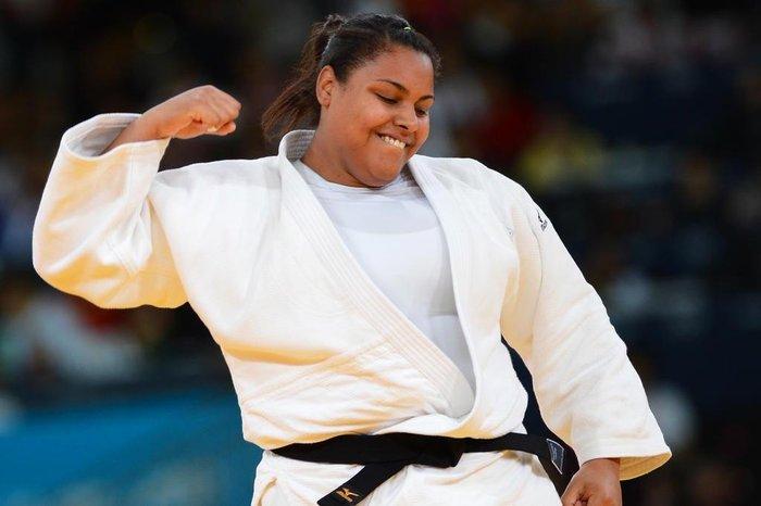 foto de Suelen terá pela frente judoca da Eslovênia ou dos Estados Unidos