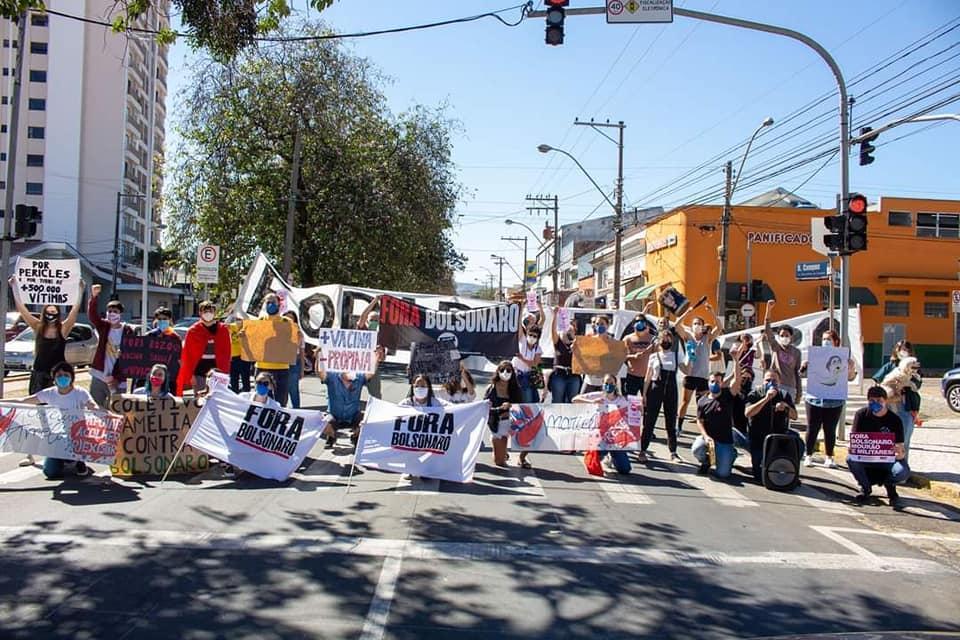 foto de Ato nacional contra Bolsonaro reúne manifestantes em Amparo