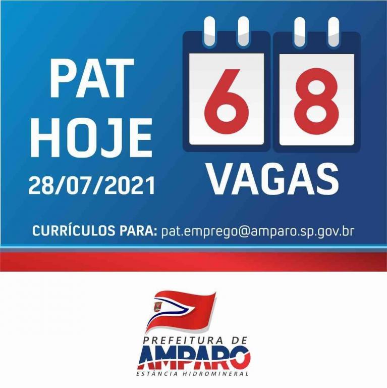 foto de PAT de Amparo tem 68 vagas de emprego