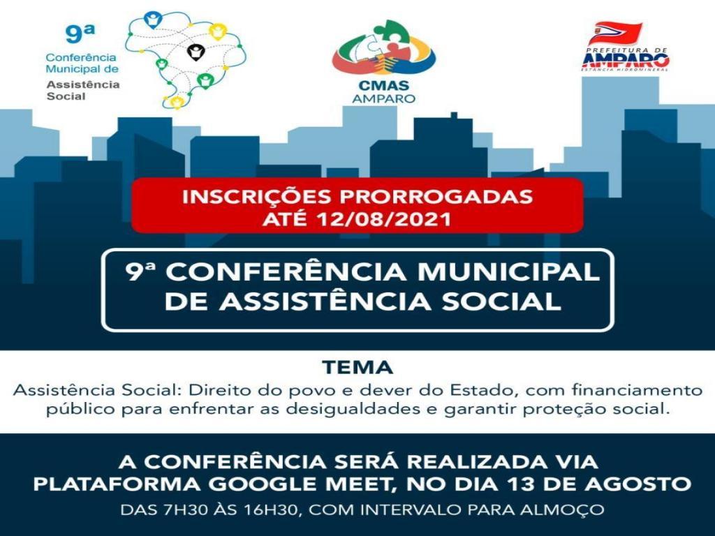 foto de Inscrições para a Conferência Municipal de Assistência Social foram prorrogadas