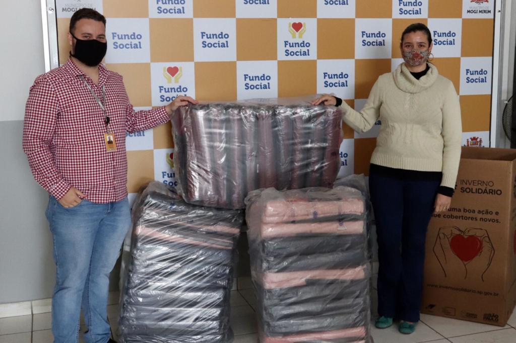 foto de Renovias faz doação de 120 cobertores para Aguaí, Itobi e Mogi Mirim