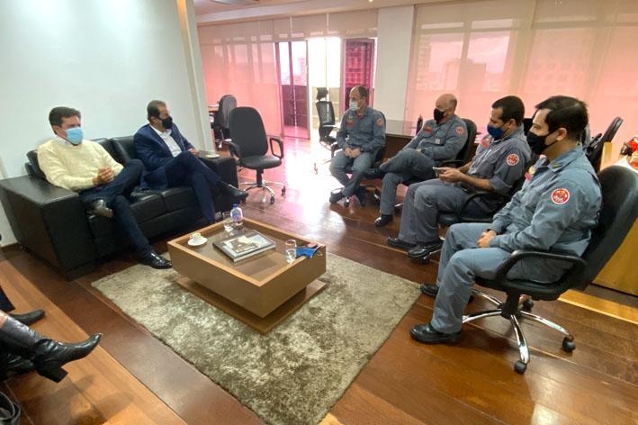 foto de SP confirma implantação de unidade do Corpo de Bombeiros em Socorro