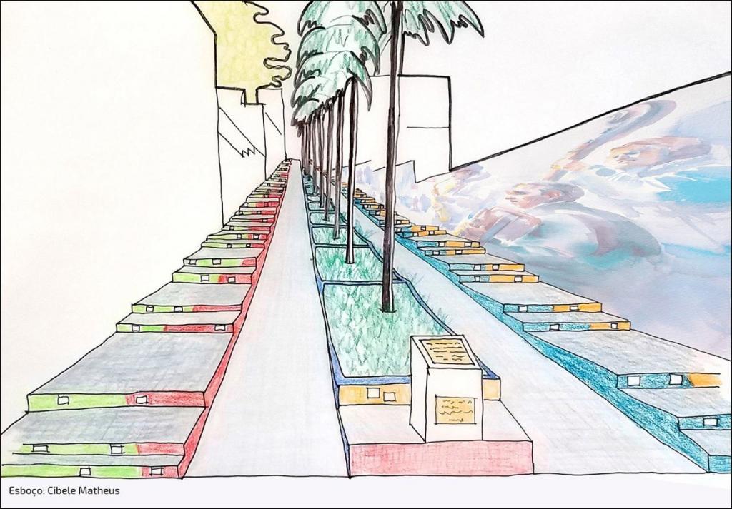 foto de Projeto de revitalização da escadaria João Aredes de Carvalho tem início