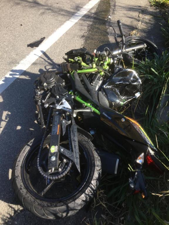 foto de Motociclista morre em acidente na Amparo-Morungaba