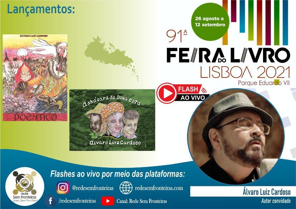 foto de Rede Sem Fronteiras apresenta autores lusófonos na 91ª Feira do Livro de Lisboa - Portugal