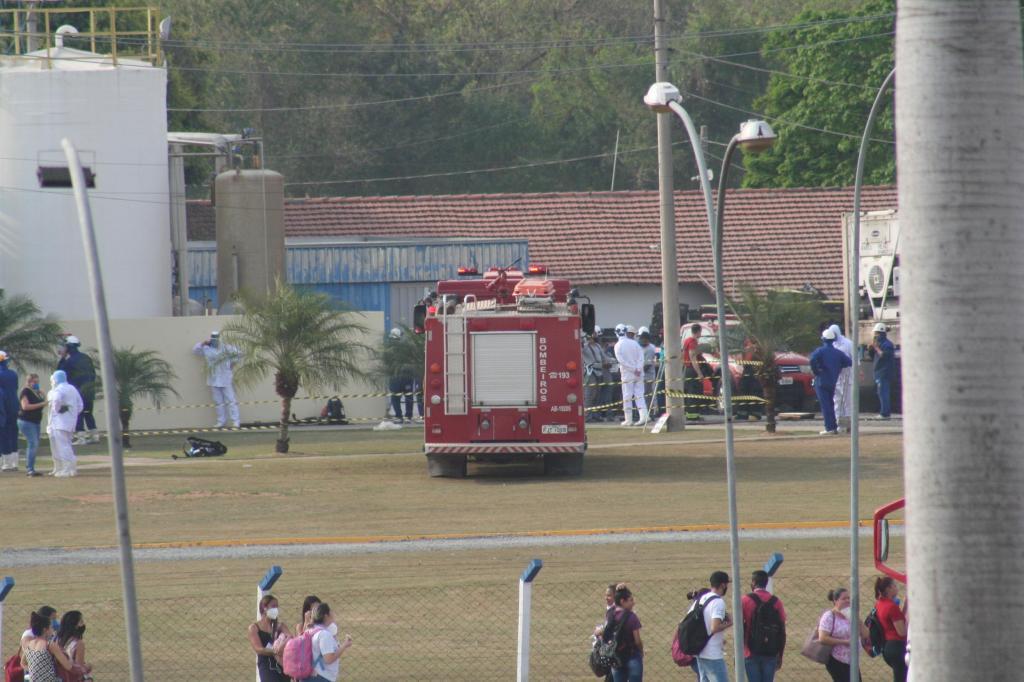 foto de Incêndio na JBS Unidade Amparo foi controlado. Não houve vítimas
