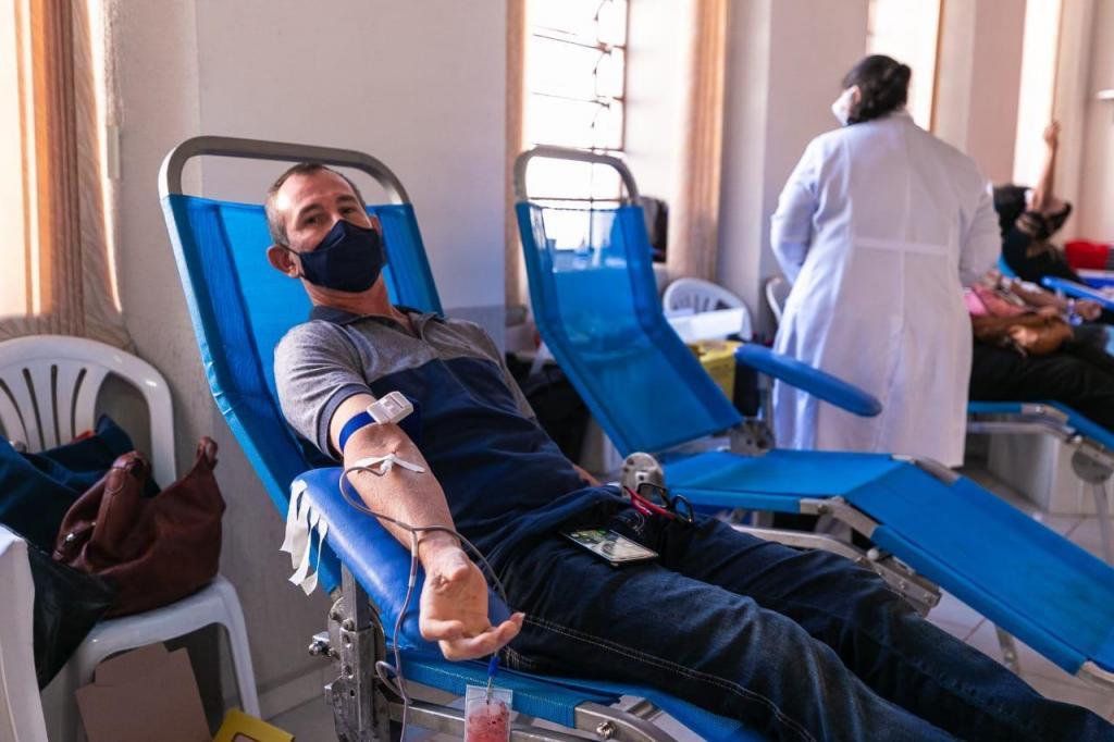 foto de Campanha de doação de sangue teve recorde de doadores