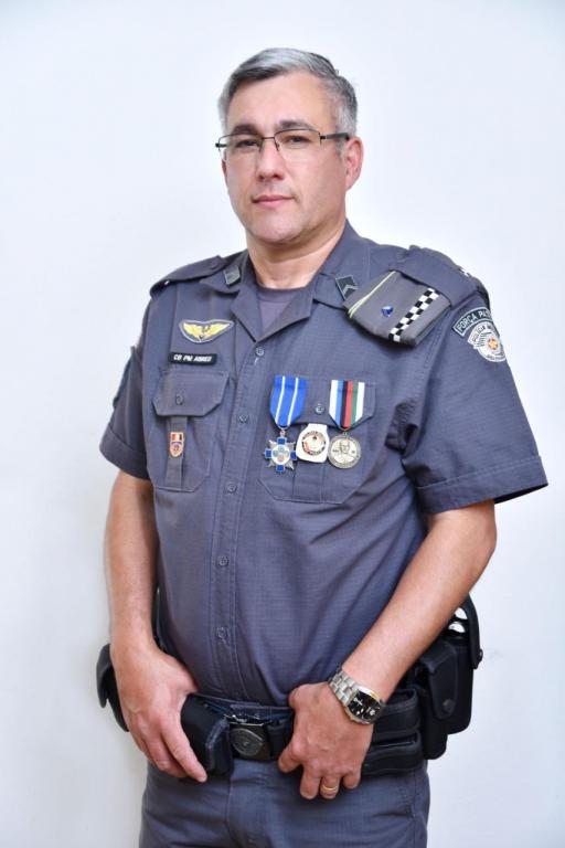 foto de Cabo Pm Abreu foi condecorado com duas medalhas