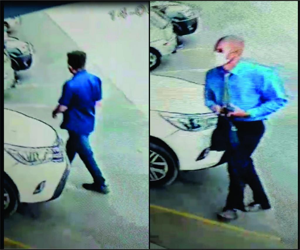 foto de Homens bem vestidos furtam Hilux em estacionamento de supermercado de Amparo