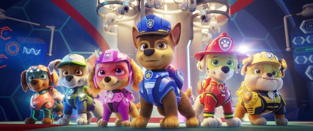 """foto de """"Patrulha Canina"""" é a atração do Cine Estação a partir de quinta-feira. Confira os horários das sessões"""
