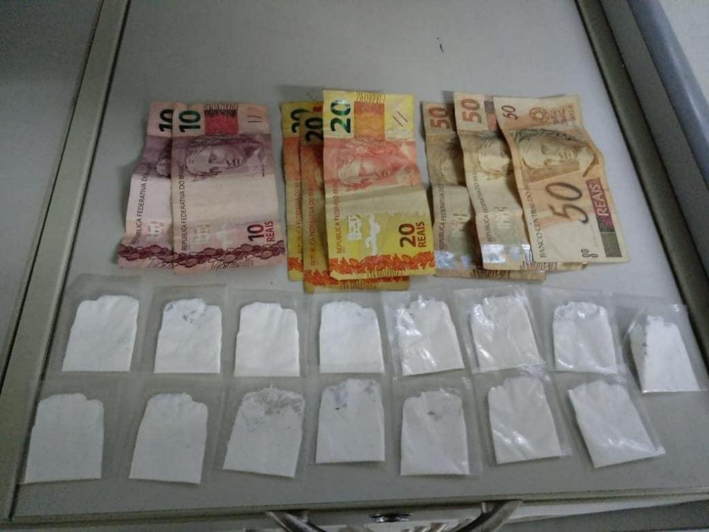 foto de Mais uma apreensão de drogas no Terminal Rodoviário e Turístico do São Dimas