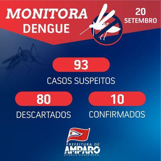 foto de Amparo na registra casos de Dengue há 80 dias