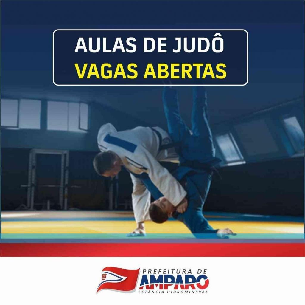 foto de Prefeitura de Amparo abre inscrições para aulas de judô