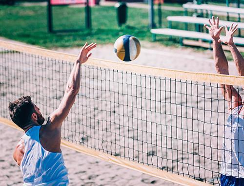 foto de Secretaria Municipal de Esporte prepara evento em quadra de areia