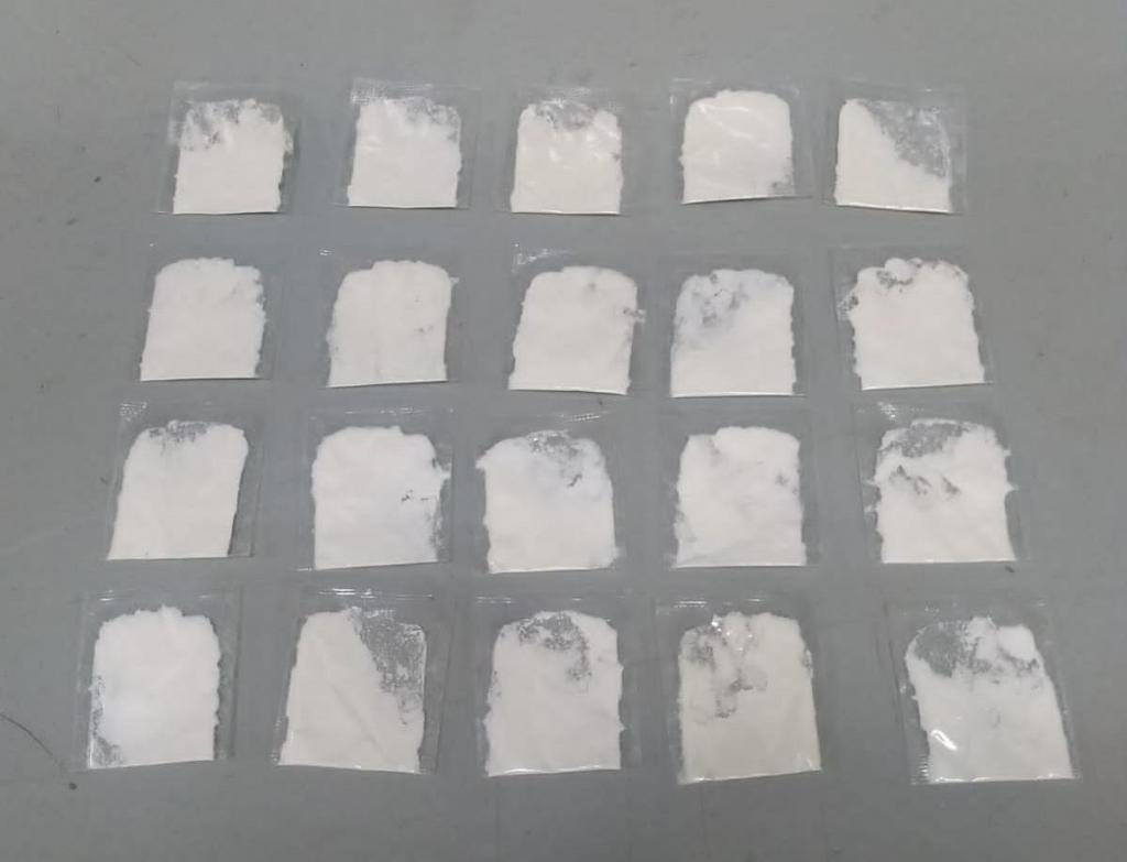 foto de Preso com 20 porções de cocaína no Jardim São Dimas